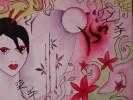Geisha, Pink, Rot, Asien