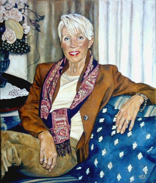 Portrait, Gemälde, Menschen, Figural, Malerei