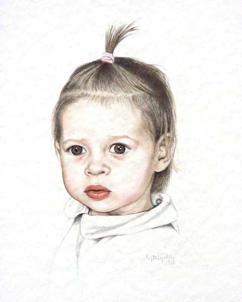 Portrait, Figural, Menschen, Aquarellmalerei, Malerei