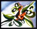 Abstrakt, Malerei, Wachsen