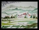 Malerei, Abstrakt, Kloster