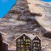 Landschaft, Berge, Malerei