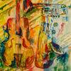 Malerei, Skizze, Musik, Politik