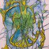 Organisch, Abstrakt, Spreewaldgurken, Malerei
