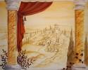 Malerei, Skizze, Wandmalerei