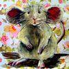 Maus, Tiere, Mischtechnik