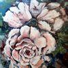 Rose, Blumen, Pflanzen, Malerei