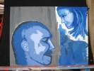 Mann, Frau, Malerei