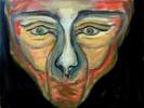 Malerei, Abstrakt, Worte