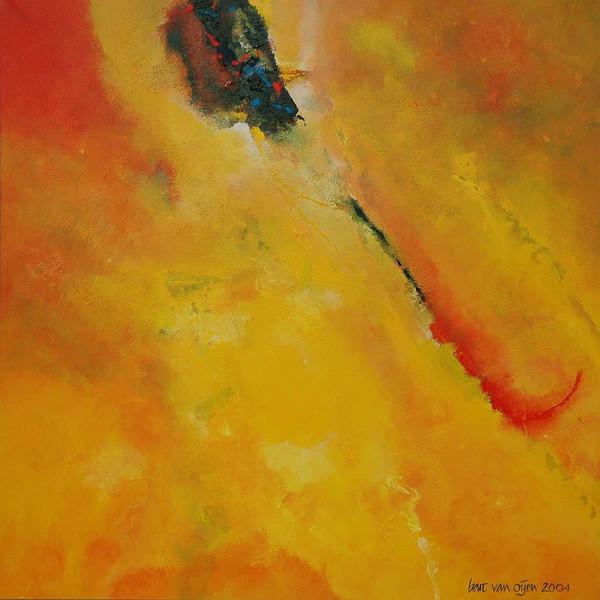 Lyrical, Abstrakt, Malerei, Acrylmalerei,