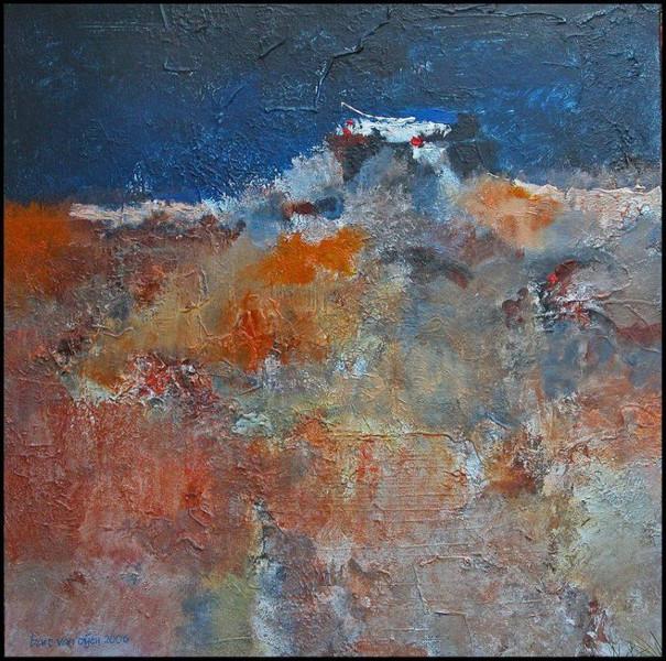 Abstrakt, Lyrical, Acrylmalerei, Malerei