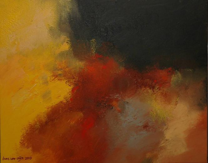 Abstrakt, Malerei, Lyrical, Acrylmalerei