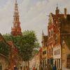 Sommer, Romantik, Holland, Landschaftsmalerei