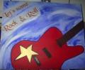 Malerei, Gitarre,