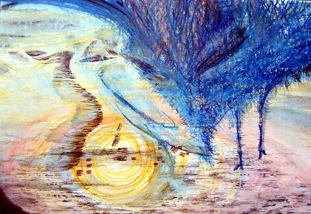 Blau, Malerei, Fliege