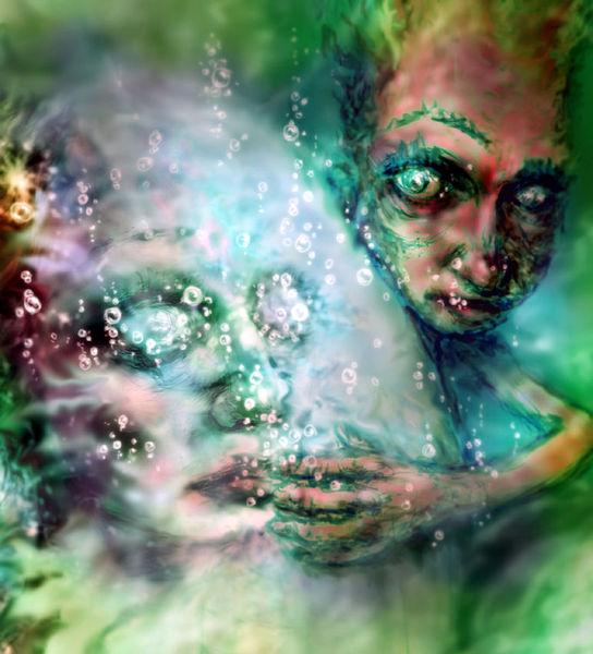 Unterwasser, Sphäre, Wasser, Deutschland, Digitale kunst,