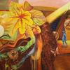Die gabe, Gemälde, Meditation, Malerei