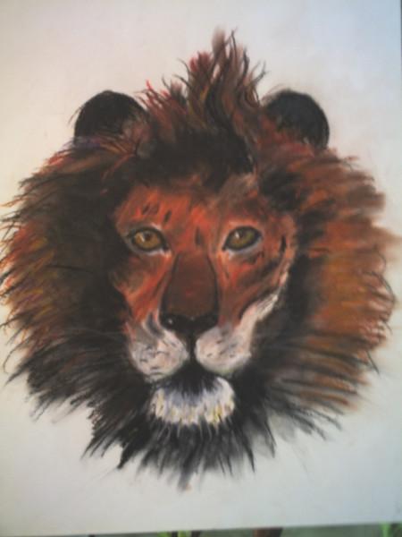 Löwe, Malerei