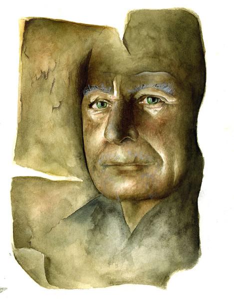 Portrait, Zeichnung, Zeichnungen, Bruder