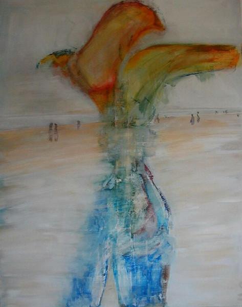 Strand, Unendlichen, Malerei, Inspirieren, Weite, Juister