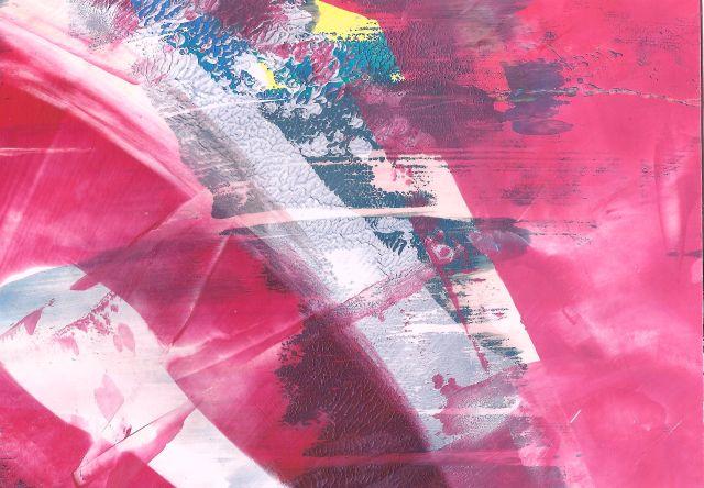 Malerei, Postkarte, Abstrakt