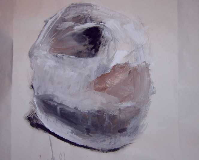 Malerei, Stein