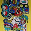 Farben, Graffiti, Gelb, Comic