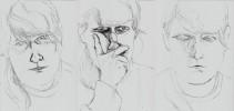 Skizze, Zeichnung, Zeichnungen, Psycho