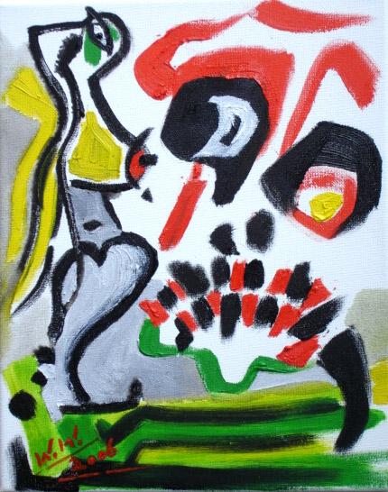 Hölle, Abstrakt, Tod, Malerei, Liebe, Ewigkeit
