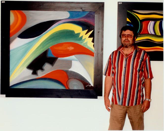 Malerei, Abstrakt, Farben, Formen