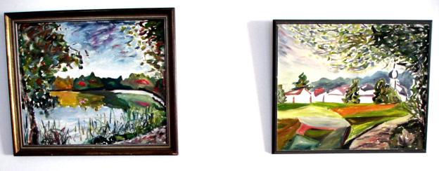 Landschaft, Malerei, Ausstellung