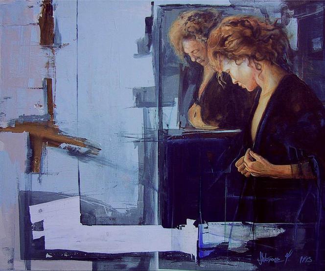 Malerei, Zeit