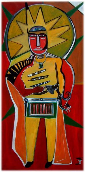 Surreal, Malerei, Indianer