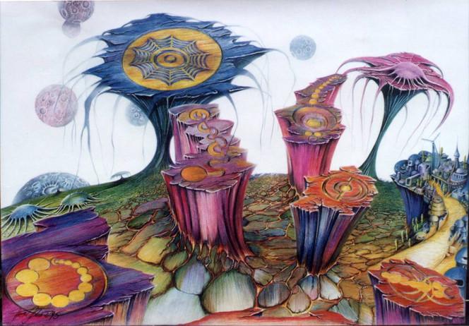 Zeichen, Energie, Kornfeld, Malerei, Kornkreise, Planet