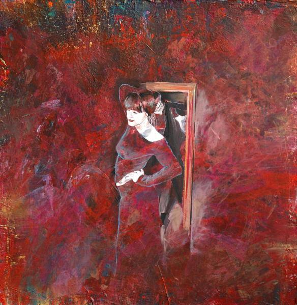 Selbstportrait, Surreal, Malerei