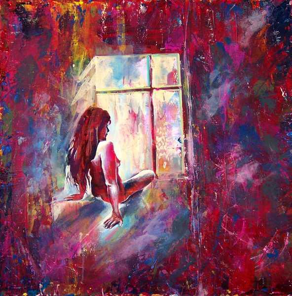 Malerei, Figural, Licht