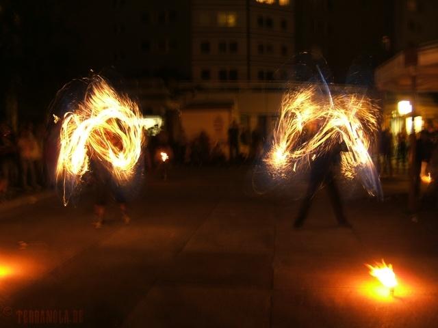 Fotografie, Surreal, Feuer,