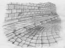 Straße, Stillleben, Zeichnung, Zeichnungen