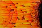 Malerei, Abstrakt, Kollision