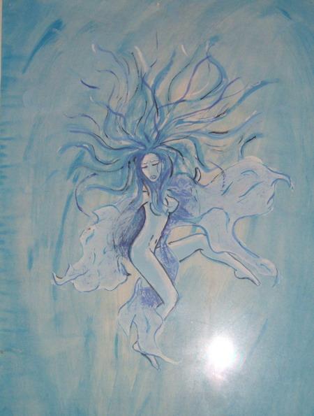 Malerei, Aquarell,