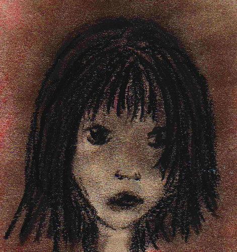 Skizze, Mädchen, Zeichnung, Zeichnungen