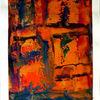 Farben, Spachteltechnik, Abstrakt, Gemälde