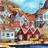 Urlaub, Küste, Schweden, Wasser