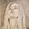 Mädchen, Hochnäsig, Blond, Zeichnungen