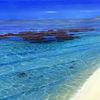 Meeresstrand, Süden, Wasser, Bewegt