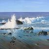 Portugal, Meeresstrand, Wasser, Brandung