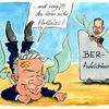 Wowereit, Brandenburg, Cartoon, Platzeck