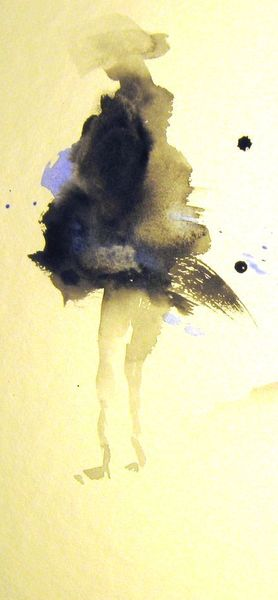 Nass, Aquarellmalerei, Skizze, Aquarell