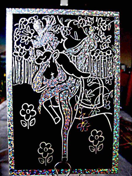 Soubrette, Kratz, Kunsthandwerk