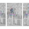 Telefonzelle, Fotografie, Streetphotography, Hamburg